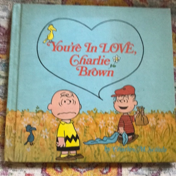 "Vintage Other - 1st ed, "" Youre  in love Charlie Brown"""